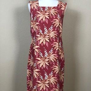Tommy Bahama 100% sleeveless silk dress Sz 14